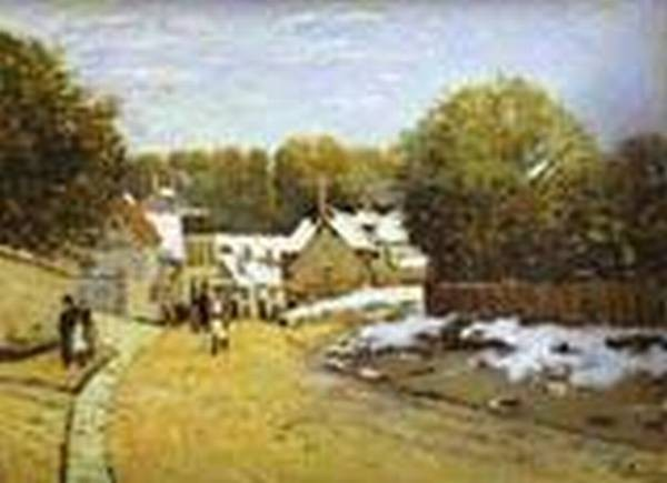 early snow at louveciennes 1871 2 XX the museum of fine arts boston usa